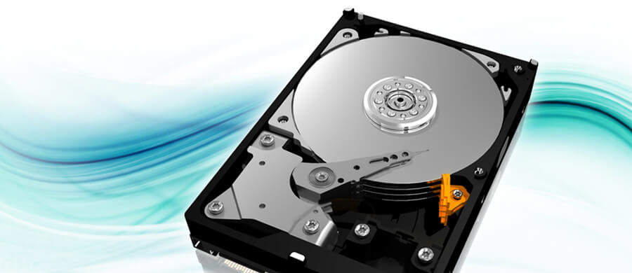 almacenamiento en disco duro