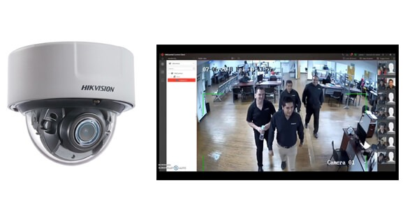 Camara con reconocimiento facial para aeropuertos