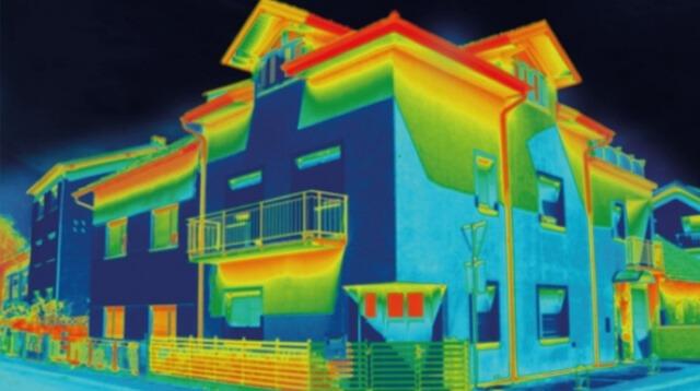 Camara de seguridad termica aplicaciones
