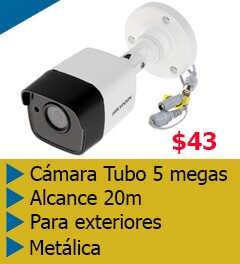 cámaras de segruidad de 5 megas