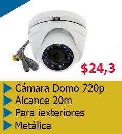 camara de seguridad domo 720p HD