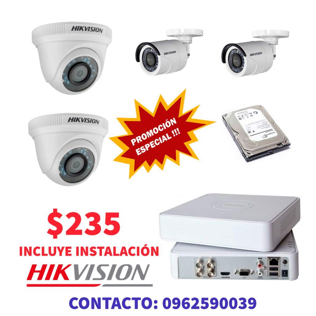 pROMOCION HIKVISION -cámaras de seguridad